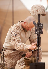 Marines honor, remember fallen brother in sout...