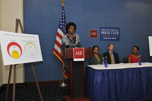AHF Press Conference on China's role in global AIDS at The National Press Club