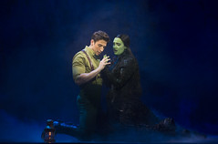 Nick Adams and Emma Hunton in the Broadway Sacramento presentation of WICKED at the Sacramento Community Center Theater May 28 - June 15, 2014. Photo by Joan Marcus.