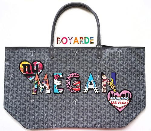 Alphabet Megan bespoke Goyard 2 copy