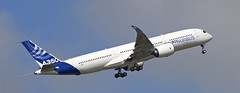 Airbus A350 XWB first flight