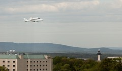 Discovery over Dulles