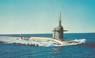 USS THOMAS A EDISON US Navy Ethan Allen Class ...