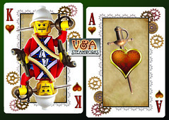 King and Ace of Hearts by V&A Steamworks
