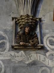 Portrait of St Stephen's builder - master Anton Pilgram