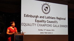 Ruth Davidson ELREC's Equality Champions Gala Dinner