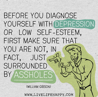Before you diagnose yourself with depression o...