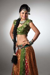 South Actress Deepika Das Traditional cum Hot Photos Set-3