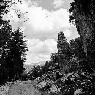 Camino hacila La Laguna de Valdeozores