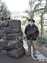 WM AA1, Alan Ash, Cheekend, Freestanding wal,dry laid stone construction, copyright 2014