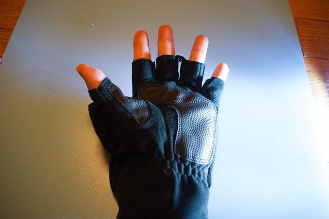 撮影用手袋
