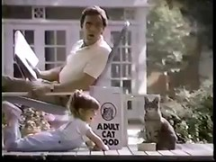 VINTAGE 80'S KITTEN CHOW COMMERCIAL W JUDITH BARSI_00003