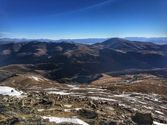 Looking to the east from Mount Lincoln summit.
