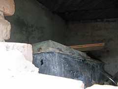 Iron casket