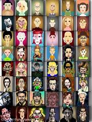 48 Celeb caricatures - 48 challenge