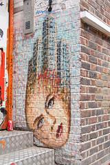 Street art by James Cochran (aka Jimmy C)