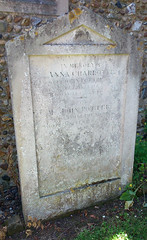 Potter family headstone