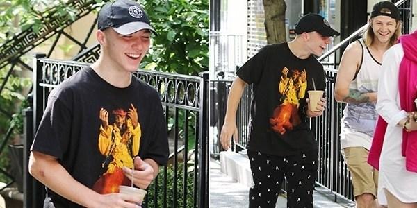 """""""Eu o amo muito"""", diz Madonna após filho ser preso por posse de maconha"""