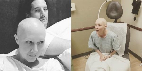 """Com câncer, atriz de """"Barrados no Baile"""" diz estar assustada com tratamento"""