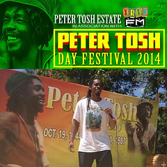 "Peter Tosh Day 2014 • <a style=""font-size:0.8em;"" href=""http://www.flickr.com/photos/92212223@N07/12816019923/"" target=""_blank"">View on Flickr</a>"