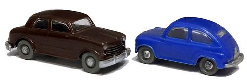 Siku Fiat 1100 & 600