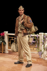 Eric Kunze (Lt. Joseph Cable) in South Pacific, produced by Music Circus at the Wells Fargo Pavilion July 22-27, 2014. Photos by Charr Crail.