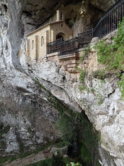 La Santa Cueva - dedicated to the Virgin of the Battlefield, La Santina, patron of Asturias