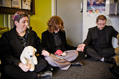Adelaide sit-in prayer vigil for asylum seekers at MP Jamie Briggs' office