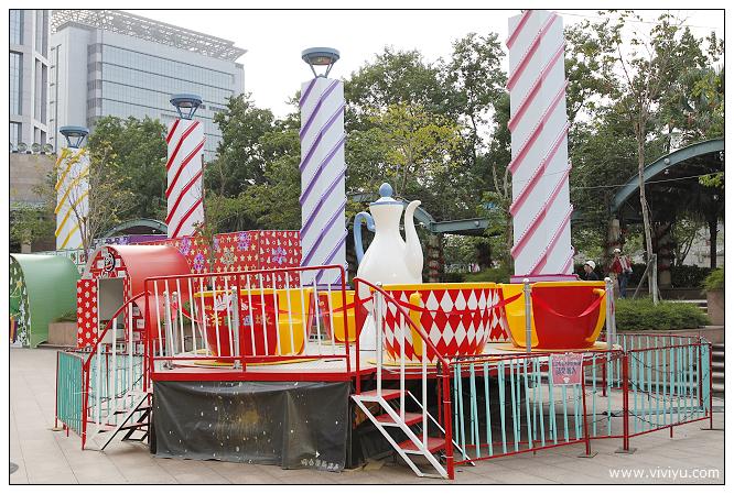 台北,市政府,新北市聖誕城,旅遊,板橋,聖誕樹 @VIVIYU小世界