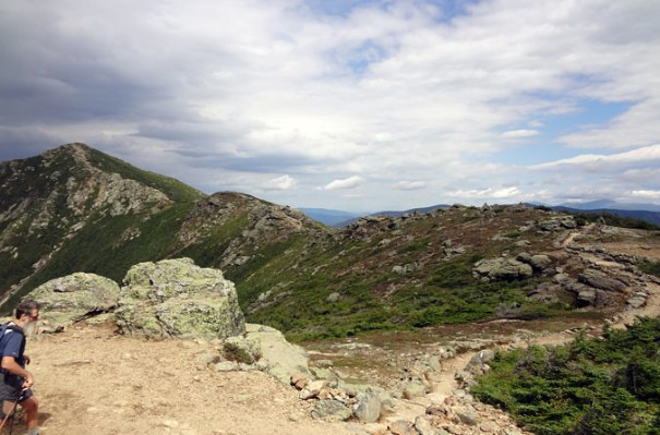 Mt. Lincoln Approach on the Franconia Ridge Trail