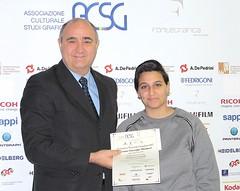 Massimo Pietrobon con Francesca Gnoffo