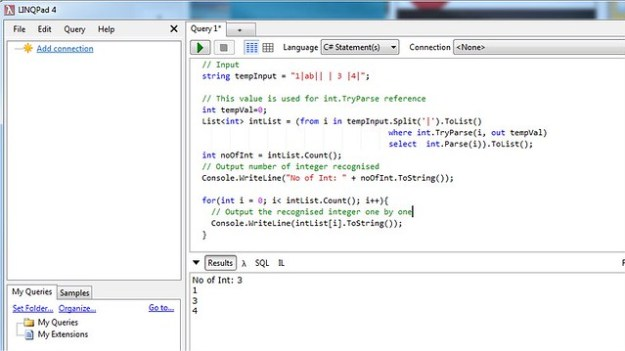 Use Linq to extract List of Integer from string