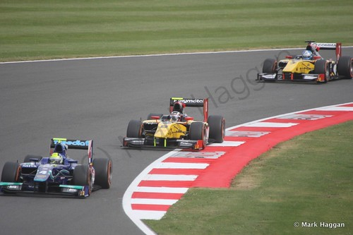 The second GP2 race at the 2014 British Grand Prix