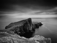"Neist Point, Skye (Mono) • <a style=""font-size:0.8em;"" href=""http://www.flickr.com/photos/26440756@N06/14642393597/"" target=""_blank"">View on Flickr</a>"