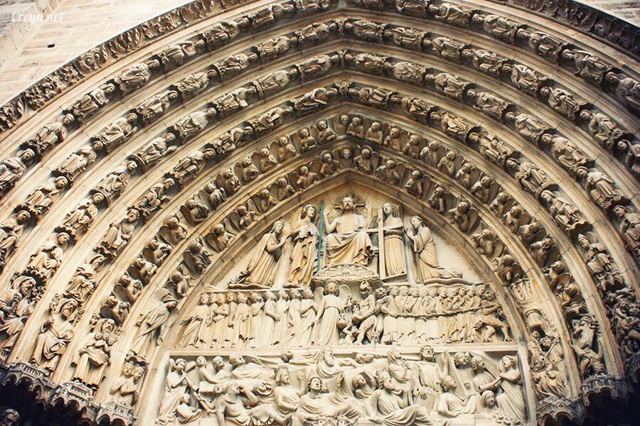 2016.10.02   看我的歐行腿  法國巴黎一日雙聖,在聖心堂與聖母院看見巴黎人的兩樣情 18