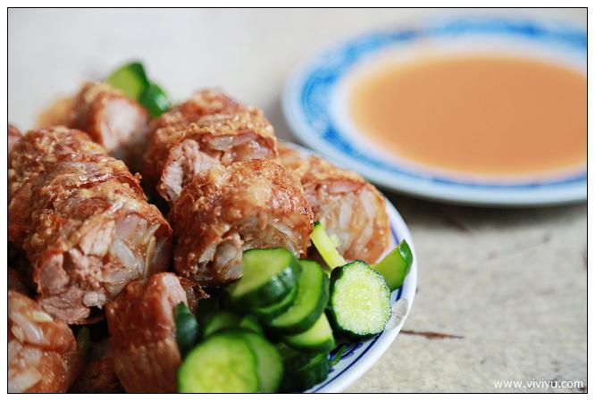 台北,延三夜市,美食,雞捲 @VIVIYU小世界