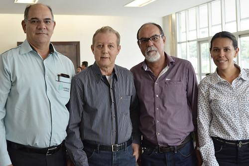 Célio Paviône, José Maria Facundes, Ladico Oliveira e Ismara Barbosa - Foto Emmanuel Franco