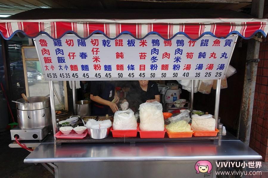 [桃園.美食]陳家魯肉飯、擔仔麵★銅板美食★桃園火車站前~餛飩麵滿到看不見湯 @VIVIYU小世界