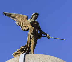 Angel and their trumpet
