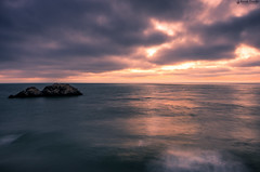 """Sunset at Lands End Lookout • <a style=""""font-size:0.8em;"""" href=""""http://www.flickr.com/photos/41711332@N00/15064043639/"""" target=""""_blank"""">View on Flickr</a>"""