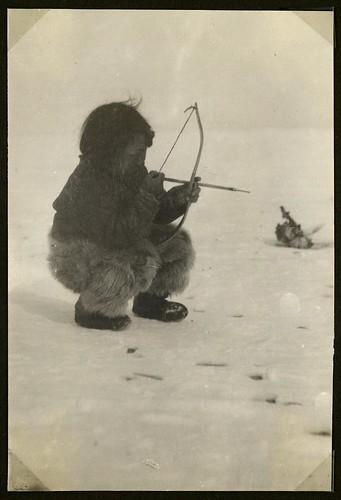 canada fur toy play bue leg exhibition bow inuit eskimo... (Photo: Nationalmuseet on Flickr)