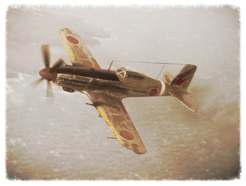 army japanese fighter force aviation air wwii plastic turbo prototype kit scratch propeller luft ki kawasaki 172 turbocharged 1946 fictional ija mottled whatif modellbau hikoki sentai whif ki61 db601 ijaaf luft46 ki100 dizzyfugu chutai ki60 ki64