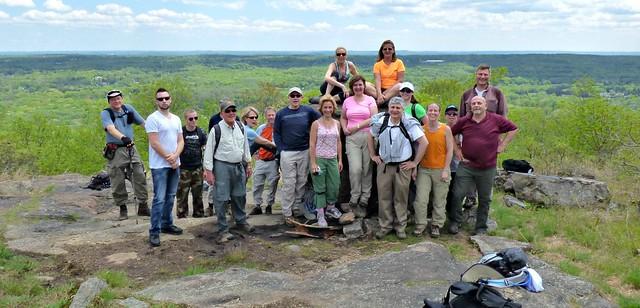 Group on the Mountain Trail - Kakiat County Park