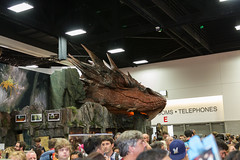 "Smaug sleeps at SDCC 2014 • <a style=""font-size:0.8em;"" href=""http://www.flickr.com/photos/33121778@N02/14595410339/"" target=""_blank"">View on Flickr</a>"