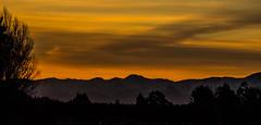 Snowy Alps Sunset