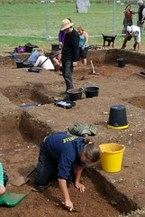 "West Kennet dig, 2014 • <a style=""font-size:0.8em;"" href=""http://www.flickr.com/photos/96019796@N00/14868923664/"" target=""_blank"">View on Flickr</a>"