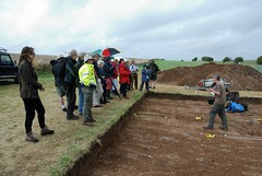 """West Kennet dig, 2014 • <a style=""""font-size:0.8em;"""" href=""""http://www.flickr.com/photos/96019796@N00/14868916604/"""" target=""""_blank"""">View on Flickr</a>"""
