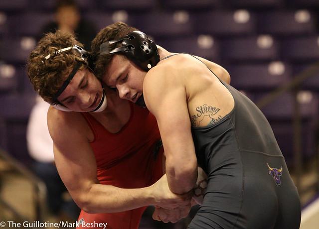 184- Corey Abernathy, MSU, won by major decision over Keegan Berry 12-4, (12-3)