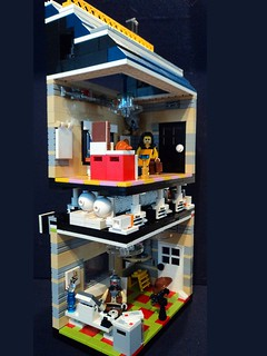 Lego Mini Office Block