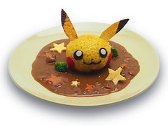 """Pikachu curry - ¥1,180 • <a style=""""font-size:0.8em;"""" href=""""http://www.flickr.com/photos/66379360@N02/15137610302/"""" target=""""_blank"""">View on Flickr</a>"""